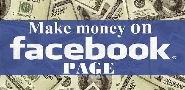 الربح من صفحتك على الفيس بوك