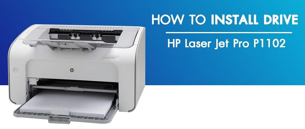 طريقة تعريف طابعة hp laserjet p1102