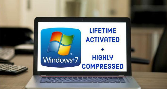 تحميل نسخة ويندوز 7 مضغوطة من ميديا فاير