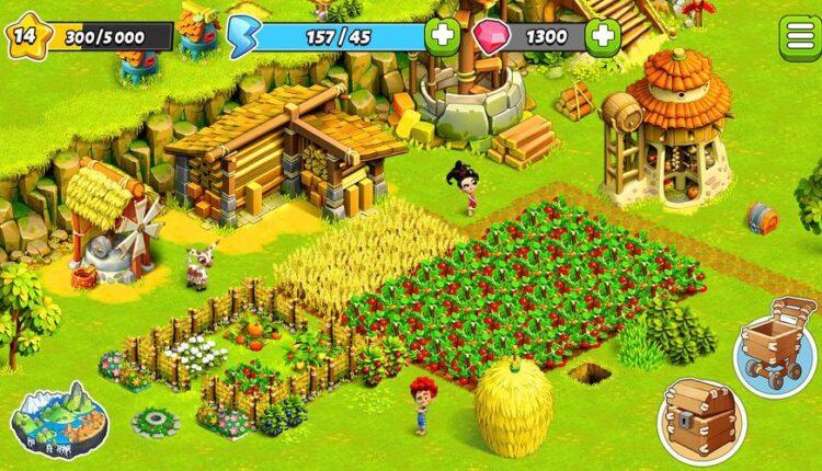 لعبة المزرعة